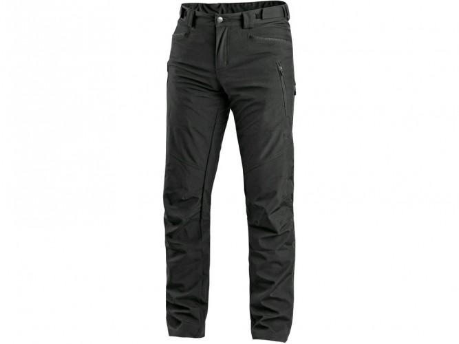 Kalhoty AKRON, softshell, černé