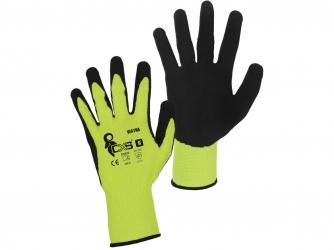 Polomáčené a celomáčené rukavice